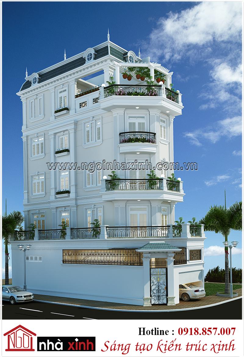 nhà phố đẹp, nha pho dep, mẫu nhà phố đẹp, mau nha pho dep, nhà phố tân cổ điển đẹp, nha pho tan co dien dep, nhà xinh, thiết kế nhà xinh