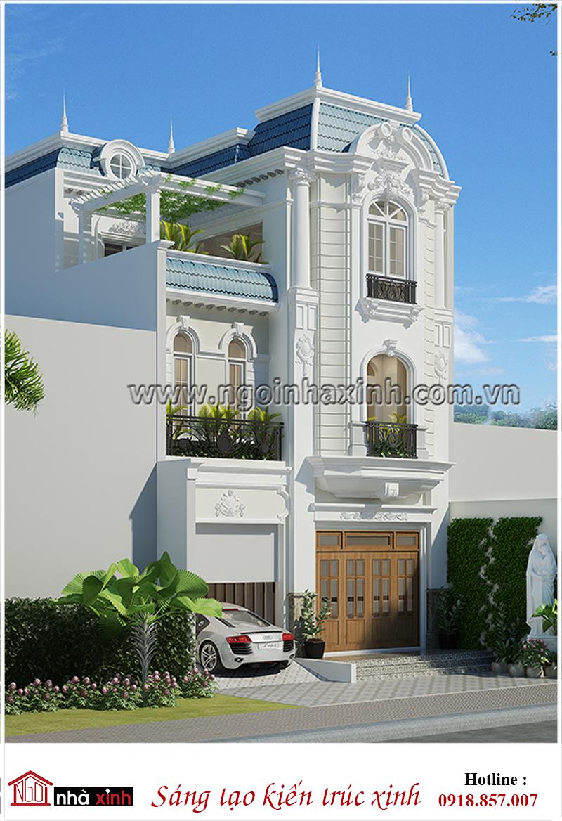 Nhà Đẹp Phong Cách Tân Cổ Điển   Chị Thúy   Ngôi Nhà Xinh