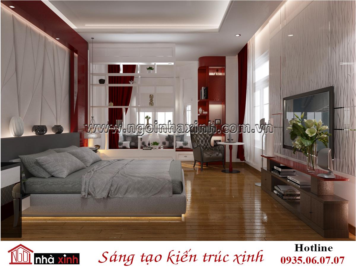 phòng ngủ đẹp hiện đại, nhà xinh
