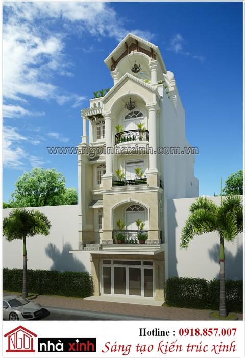 Tổng hợp nhà phố đẹp hiện đại và cổ điển Ngôi Nhà Xinh