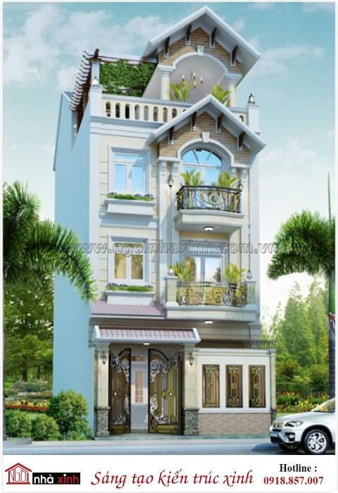 nhà phố đẹp, nha pho dep, nhà xinh