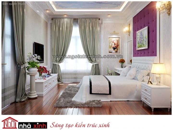 Mẫu Nhà Đẹp | Nội Thất Phòng Ngủ Đẹp | Tân Cổ Điển | Nhà Chị Hạnh - Hà Nội
