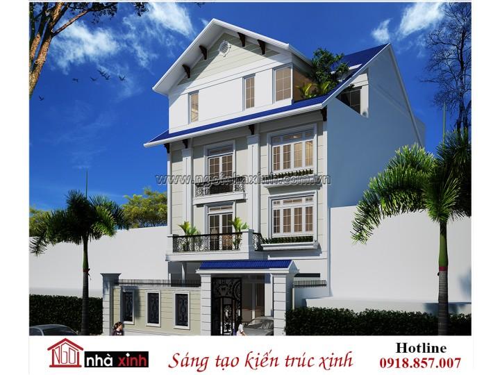 Mẫu Nhà Phố Đẹp   Hiện Đại   Anh Phú - Chị Giang    Trung Sơn     NP - NNX 718