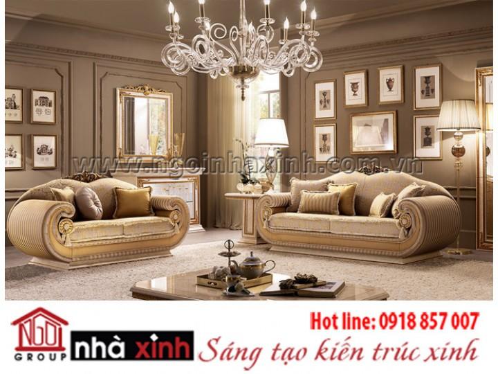 Mẫu nội thất mạ vàng NNX-PKMV155