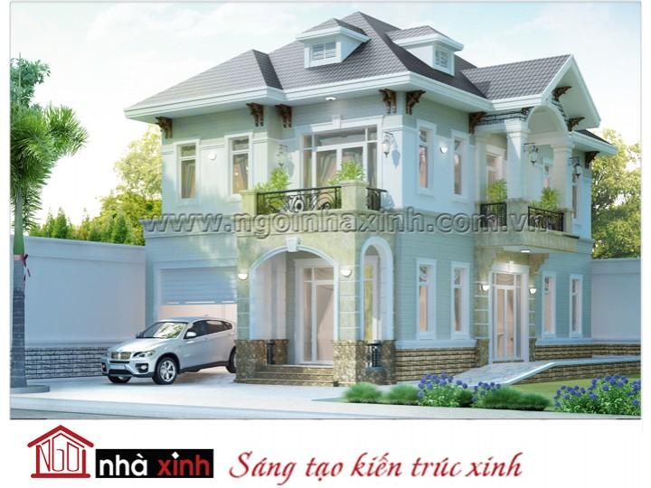 Mẫu thiết kế biệt thự đẹp | Nhà anh Giang - Đà lạt - BT-NNX0616