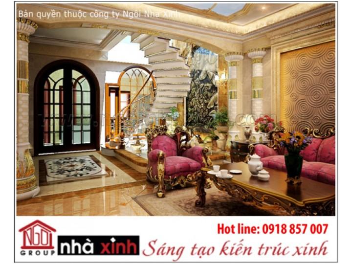 Mẫu thiết kế nội thất| Cổ điển | Chị Liễu - Quận 7.