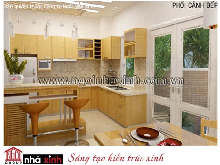 Mẫu Phòng Bếp & Phòng Ăn Đẹp | Cổ Điển | Anh Thuận - Q. Tân Bình | NT.NNX070