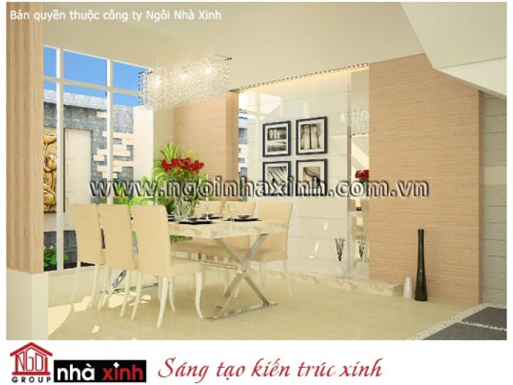 Nội Thất Phòng Bếp - Phòng Ăn Đẹp | Hiện Đại | Chú Hoàng - Hóc Môn | NT. NNX069
