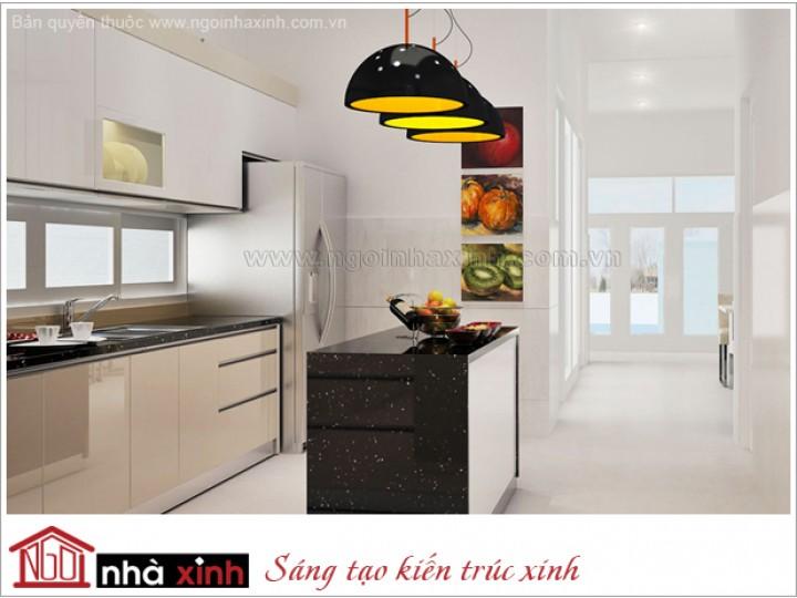 bếp đẹp, nhà xinh