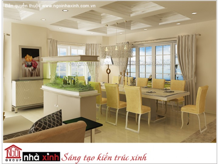 Nội Thất Phòng Bếp & Phòng Ăn Đẹp | Hiện Đại |  Anh Hiệp - Quận 7 | NT. NNX123