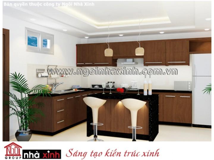 Nội Thất Phòng Bếp & Phòng Ăn Đẹp | Hiện Đại | Anh Nhơn - Quận 8 | NT.NNX036