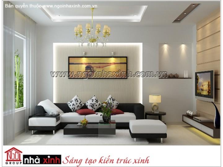 Mẫu Phòng Khách Đẹp Trang Nhã | Hiện Đại | Đồng Nai | NT. NNX072