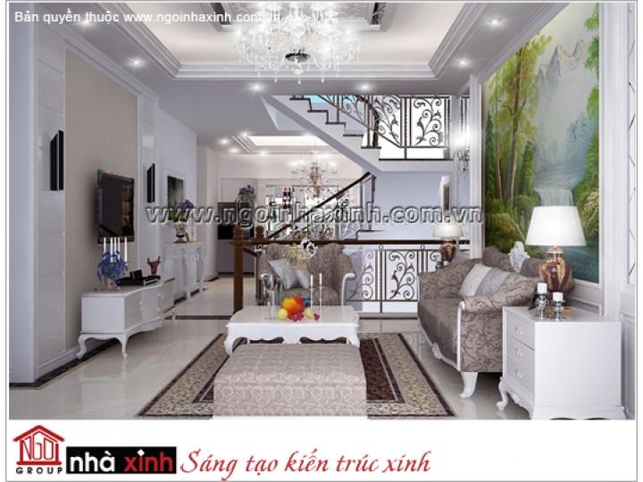 Mẫu Phòng Khách Đẹp | Hiện Đại | Nhà Phố | Q. Bình Thạnh | NT. NNX 125