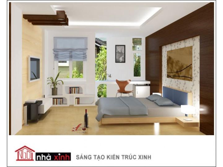 Mẫu Nội Thất Phòng Ngủ Đẹp | hiện đại | Cô Tuyết - Tan Bình | NT. NNX 017