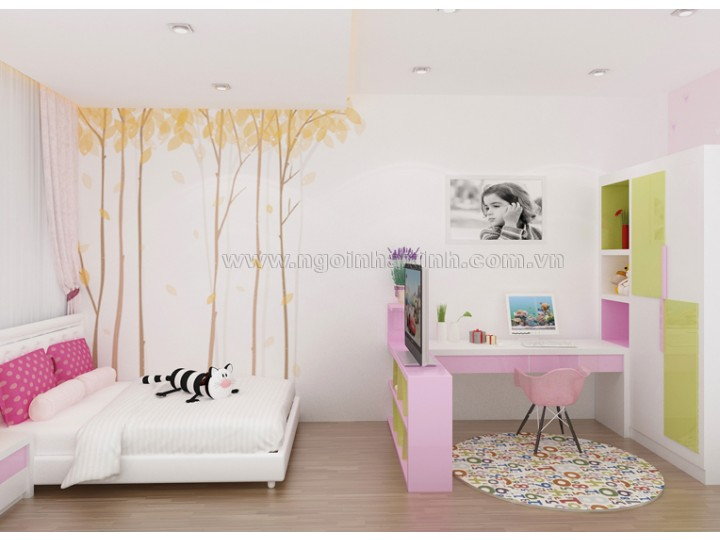Mẫu Phòng Ngủ Đẹp | hiện đại| Chị Linh - Quận 2 | NT. NNX 124