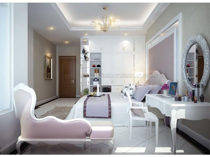 Thiết Kế Phòng Ngủ Đẹp | hiện đại | ấn tượng| NT. NNX 125 | CĐT: Chị Lan ĐC: Q. Bình Thạnh
