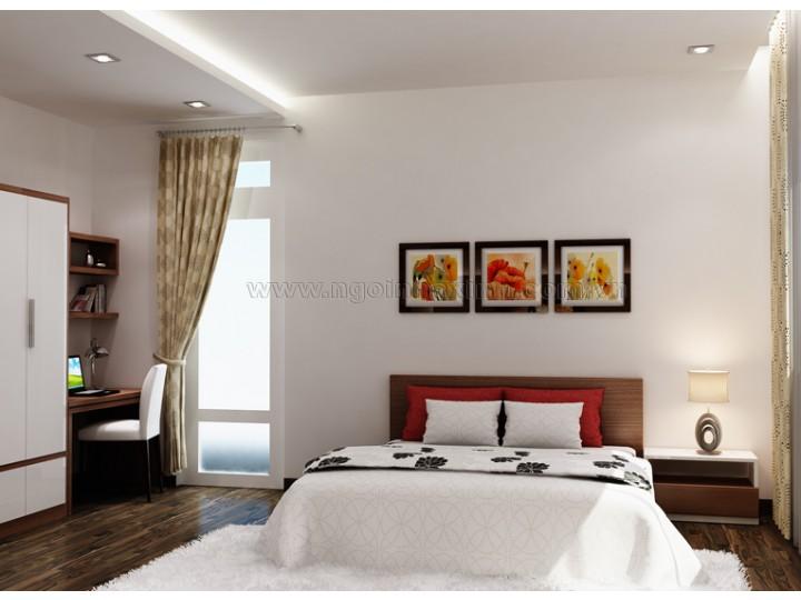 Mẫu Thiết Kế Nội Thất Phòng Ngủ Đẹp | hiện đại  |Ô. Duyên, Q. 7| NT.NNX 132