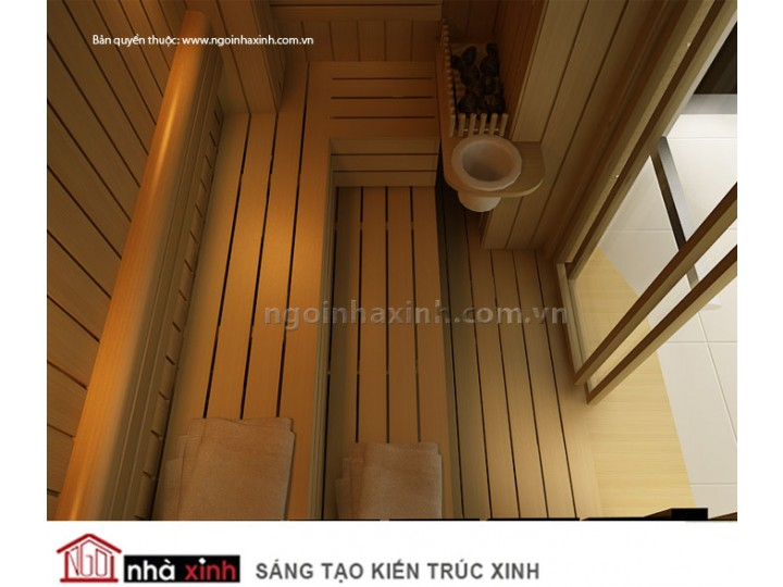 Thiết Kế Nội Thất Phòng Sauna Đẹp   Hiện Đại   Ấn Tượng   Anh Thắng   Q. 7   NT.NNX046