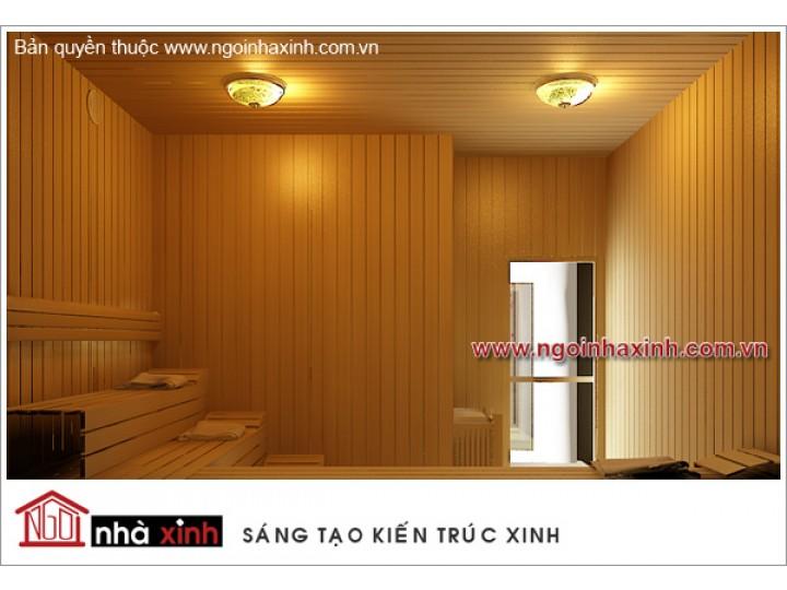 Mẫu Thiết Kế Nội Thất Phòng Sauna Đẹp | Hiện Đại | Ấn Tượng | Sang Trọng | Khách Sạn Maiharian | Q. 1 | NT. NNX068