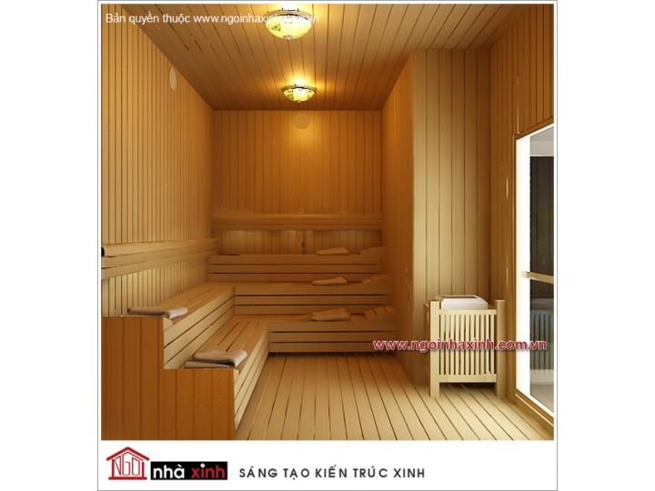 Mẫu Thiết Kế Phòng Sauna Sang Trọng | Hiện Đại | Ấn Tượng | Khách Sạn Maiharian | Q. 1| NT. NNX068