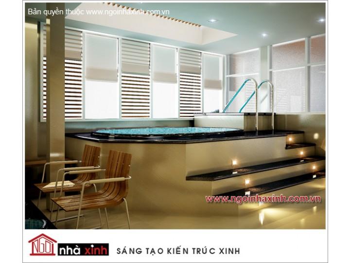 Mẫu Thiết Kế Nội Thất Phòng Tắm Sang Trọng | hiện đại | ấn tượng | Khách Sạn Maiharian | Q. 1 |NT. NNX068