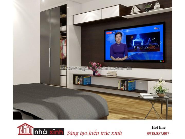 Mẫu thiết kế phòng ngủ master đẹp   Hiện Đại   Nhà Chị Hoa