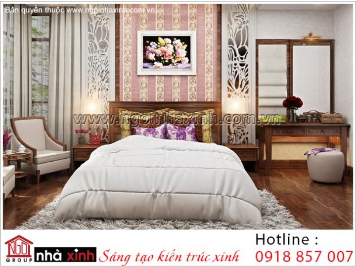 Thiết Kế Phòng Ngủ Nhẹ Nhàng | Cổ Điển - Gamuda | NT. NNX 188