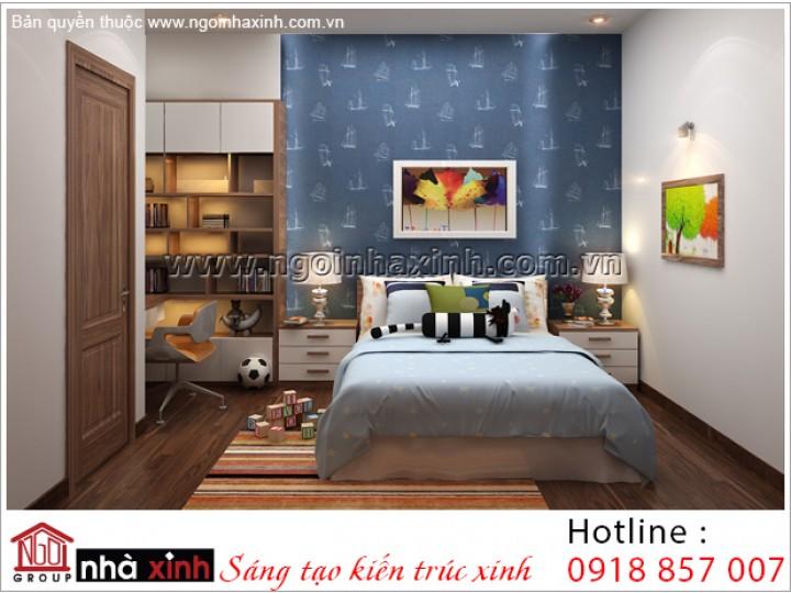 Mẫu Thiết Kế Phòng Ngủ Trẻ Trung | Cổ Điển - Gamuda | NT. NNX 188