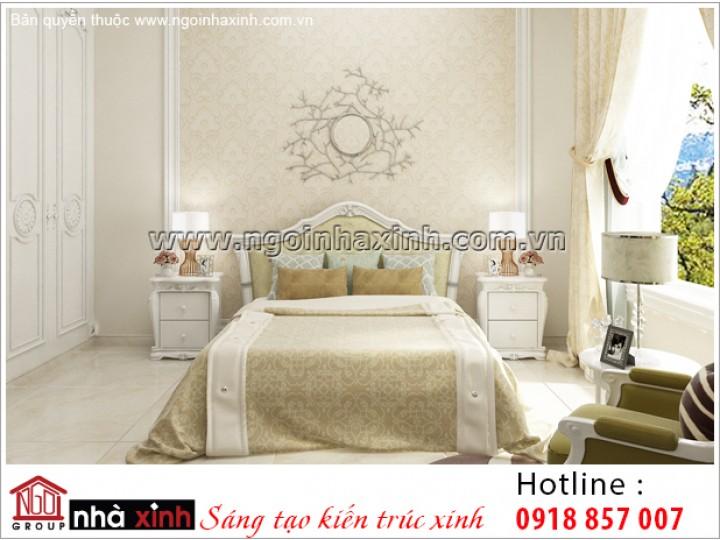 Trang Trí Nội Thất Phòng Ngủ Đẹp   Cổ Điển   NT. NNX 189