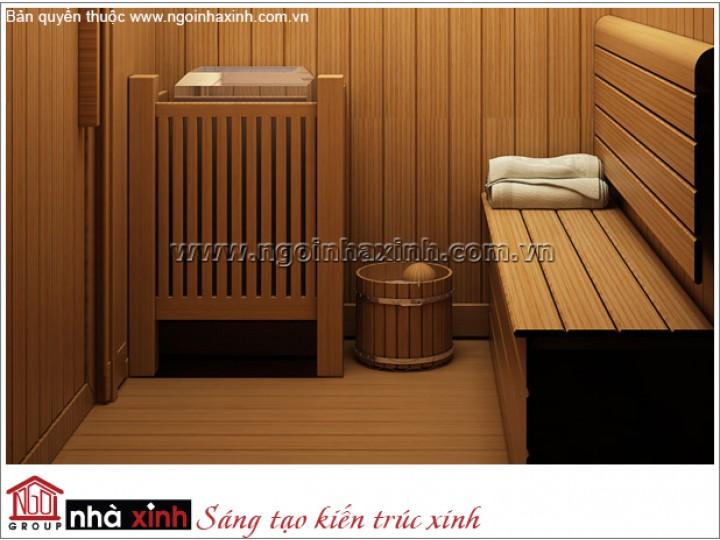 Mẫu Thiết Kế Phòng Sauna Đẹp   Hiện Đại - Bình Dương   NT. NNX 178
