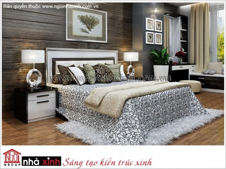 Mẫu Thiết Kế Phòng Ngủ Êm Ái | Hiện Đại | Đảo Kim Cương- TP.HCM - NT. NNX 174