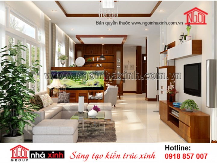 Mẫu Nội Thất Đẹp | Hiện Đại  | Nhà Phố | Đinh Công Khánh |NT. NNX 189