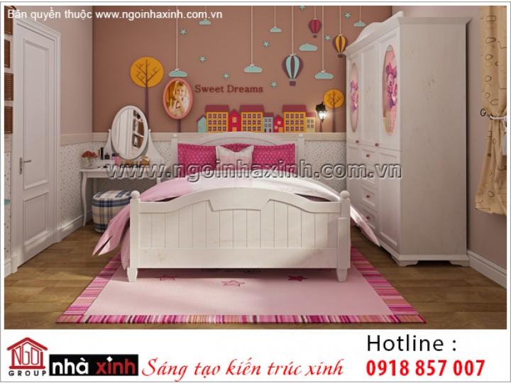Mẫu Thiết Kế Trang Trí Phòng Ngủ Đẹp | Tân Cổ Điển | Hà Nội | NT.NNX197
