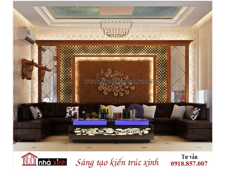 Nội thất đẹp NHÀ XINH phong cách hiện đại kết hợp tân cổ điển | Chị Châu | NNX - NT711