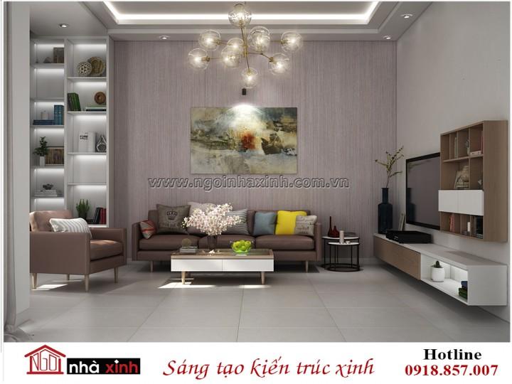 Nội thất nhà đẹp   Chị Ngọc Thanh   88 Lê Niệm   NNX - NT744