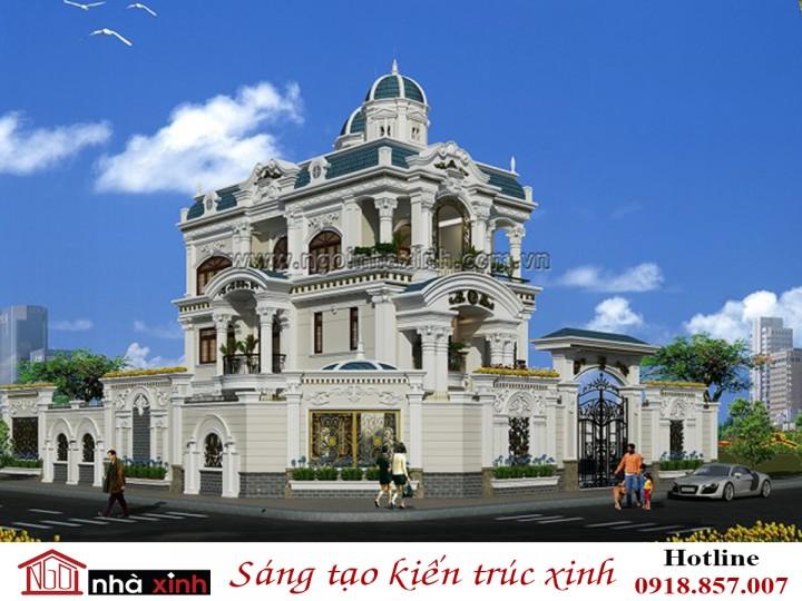 Mẫu biệt thự đẹp | Cổ điển |  Anh Dũng - Thảo Điền |  Quận 2 -  Tp.HCM | NNX BT713