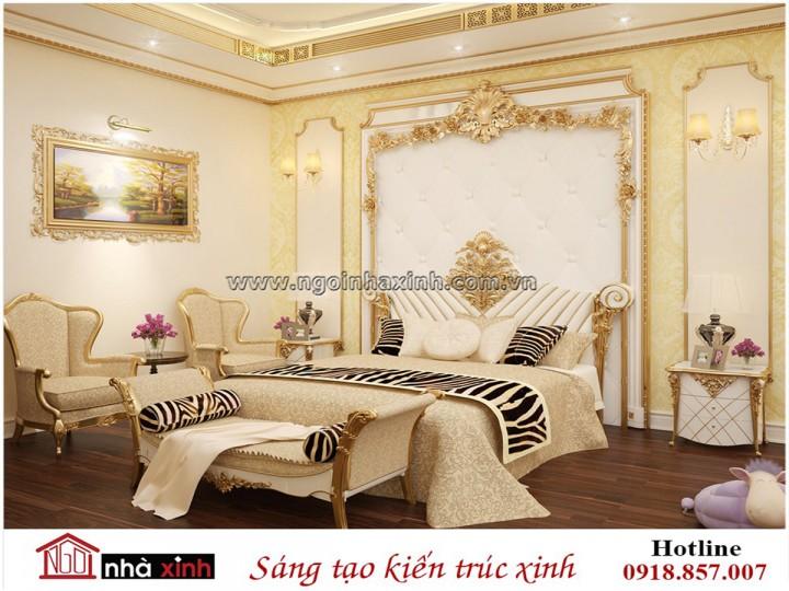 Mẫu Nhà Đẹp | Nội Thất Phòng Ngủ Đẹp | Tân Cổ Điển | Chị Bình - Bình Dương