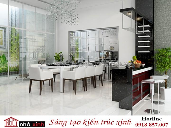Mẫu Phòng Bếp Đẹp Hạng Sang | Cách Tân