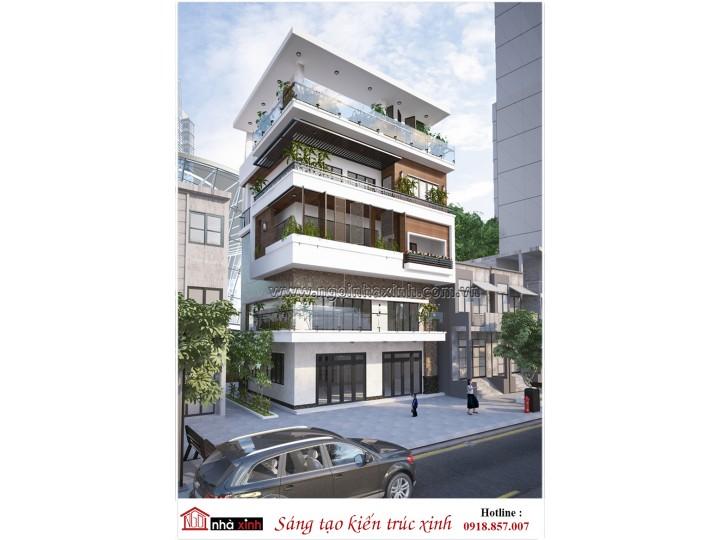 Mẫu Thiêt Kế Nhà Phố Đẹp 2019 | Hiện Đại | 4 tầng | Mặt tiền 8Mx20M l Chị Hoa - Nguyễn Văn Luông Quận 6 TPHCM