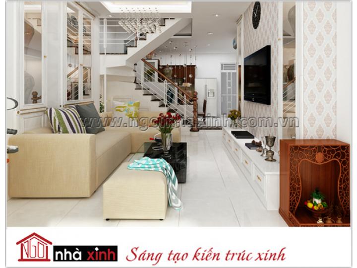 Thiết kế nội thất đẹp | Hiện đại | Anh Hoàng - Q. Bình Thạnh | NNX0619