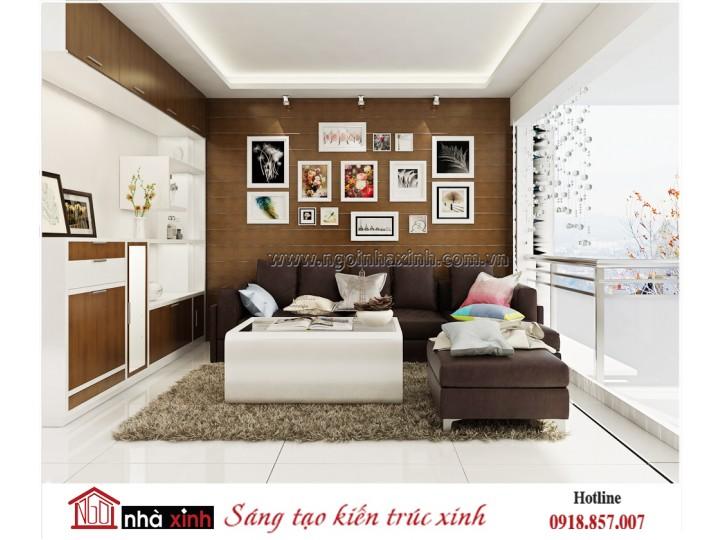 Thiết kế nội thất đẹp NHÀ XINH | Hiện Đại | Anh Giang Nghiệp | NNX - NT714