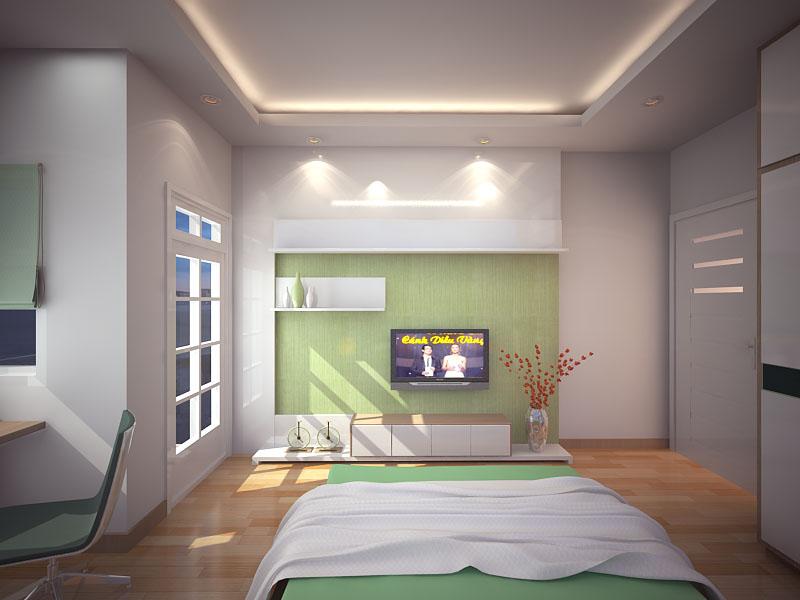 Phòng ngủ vợ chồng trẻ 1
