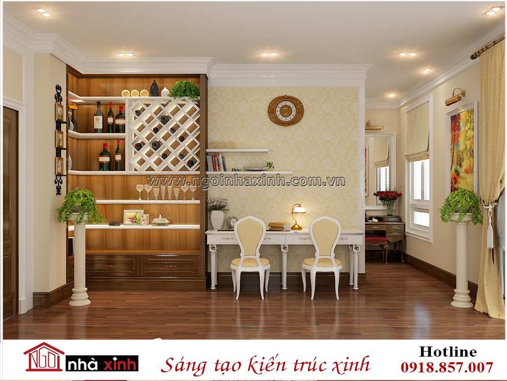thiết kế nội thất đẹp, phòng ngủ master