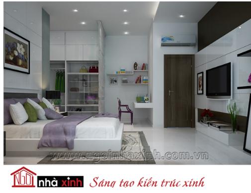 nội thất đẹp phòng ngủ hiện đại do Nhà Xinh thiết kế