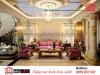 Thiết kế nội thất đẹp phòng khách cách tân cổ điển - Chị Liễu (Đại gia phố núi Hà Tĩnh)