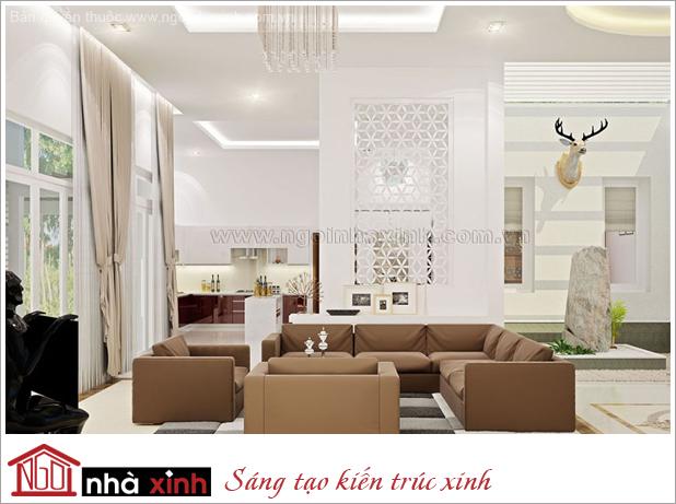 nội thất đẹp phòng khách ở Bình Dương do Nhà Xinh thiết kế