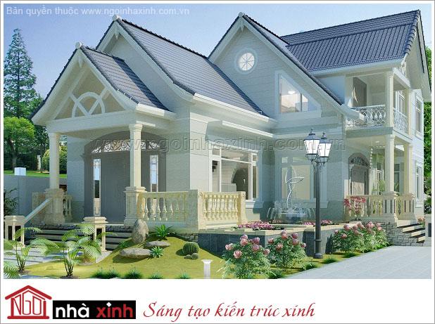 biệt thự đẹp, nhà xinh, thiết kế nhà xinh