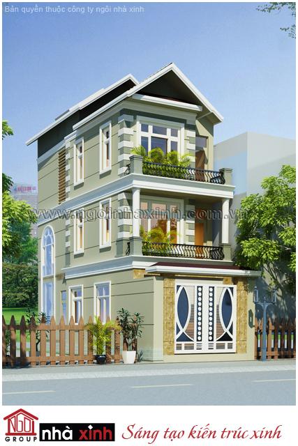 nhà phố đẹp, nha pho dep, mẫu nhà phố đẹp, mau nha pho dep, nhà phố tân cổ điển đẹp, nha pho tan co dien dep
