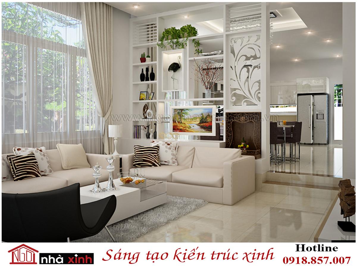 nhà xinh, thiết kế phòng khách, phòng khách đẹp