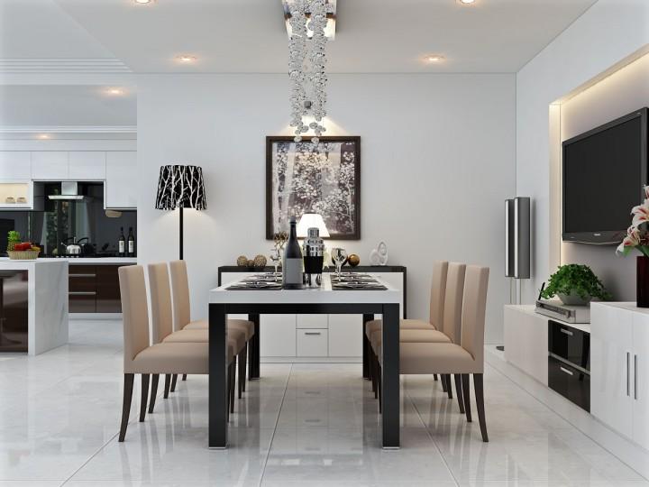 10 Mẫu thiết kế nội thất phòng bếp hiện đại